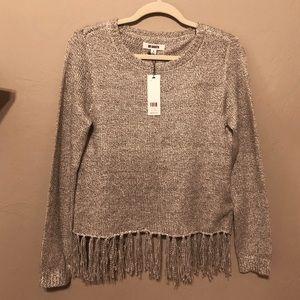 Fringe bottom Sweater